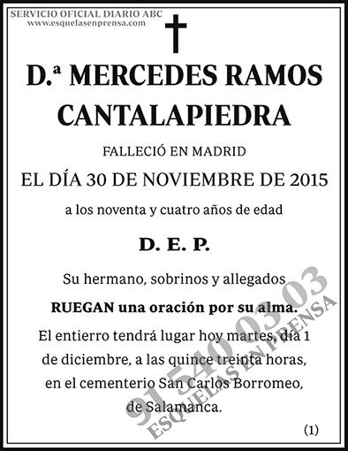 Mercedes Ramos Cantalapiedra
